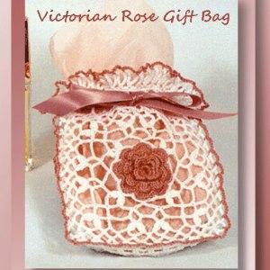Victorian Rose Gift Bag