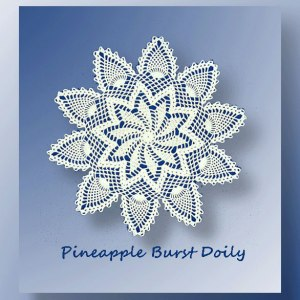 Pineapple Burst Doily