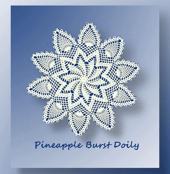 Pineapple Burst Doily