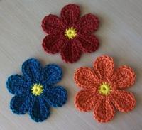 Haakpatroon bloem