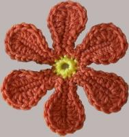 Groovy 70's Crochet FREE Flower Pattern ♥ http://www.crochetville.com