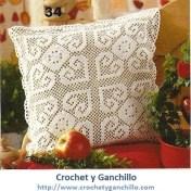 Cojines crochet