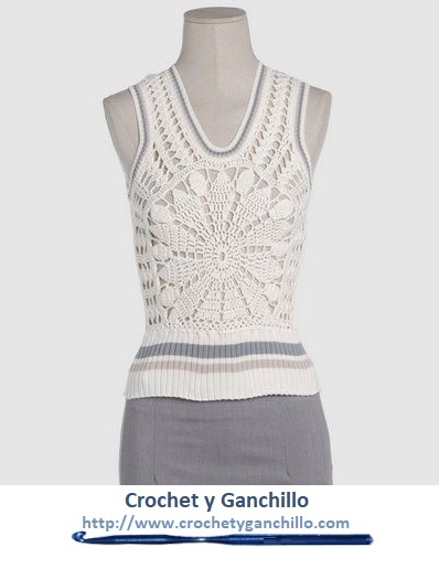 Remeras tejidas al crochet