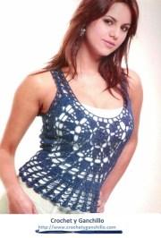 Remeras tejidas. Una remera ideal para vestir en verano y primavera