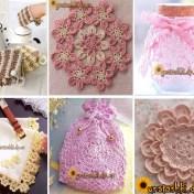 Crochet hogar varios ganchillo con esquemas