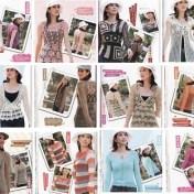 Diseños blusas y chalecos crochet con esquemas