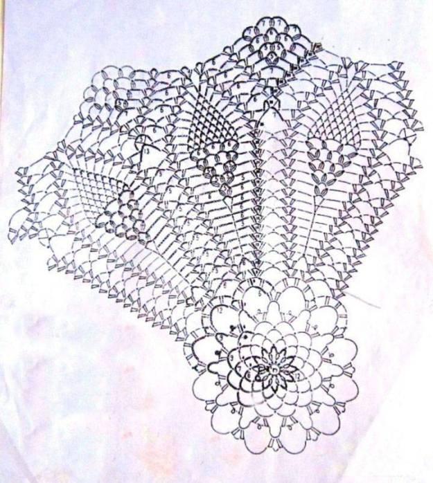 Vestido crochet niña elegante1