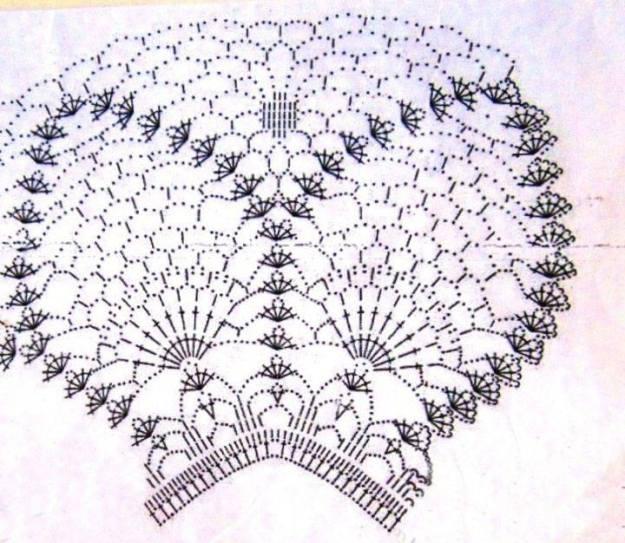 Vestido crochet niña elegante2