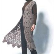 Abrigos de crochet