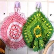 Adornos para cocina a crochet