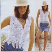 Bolero crochet