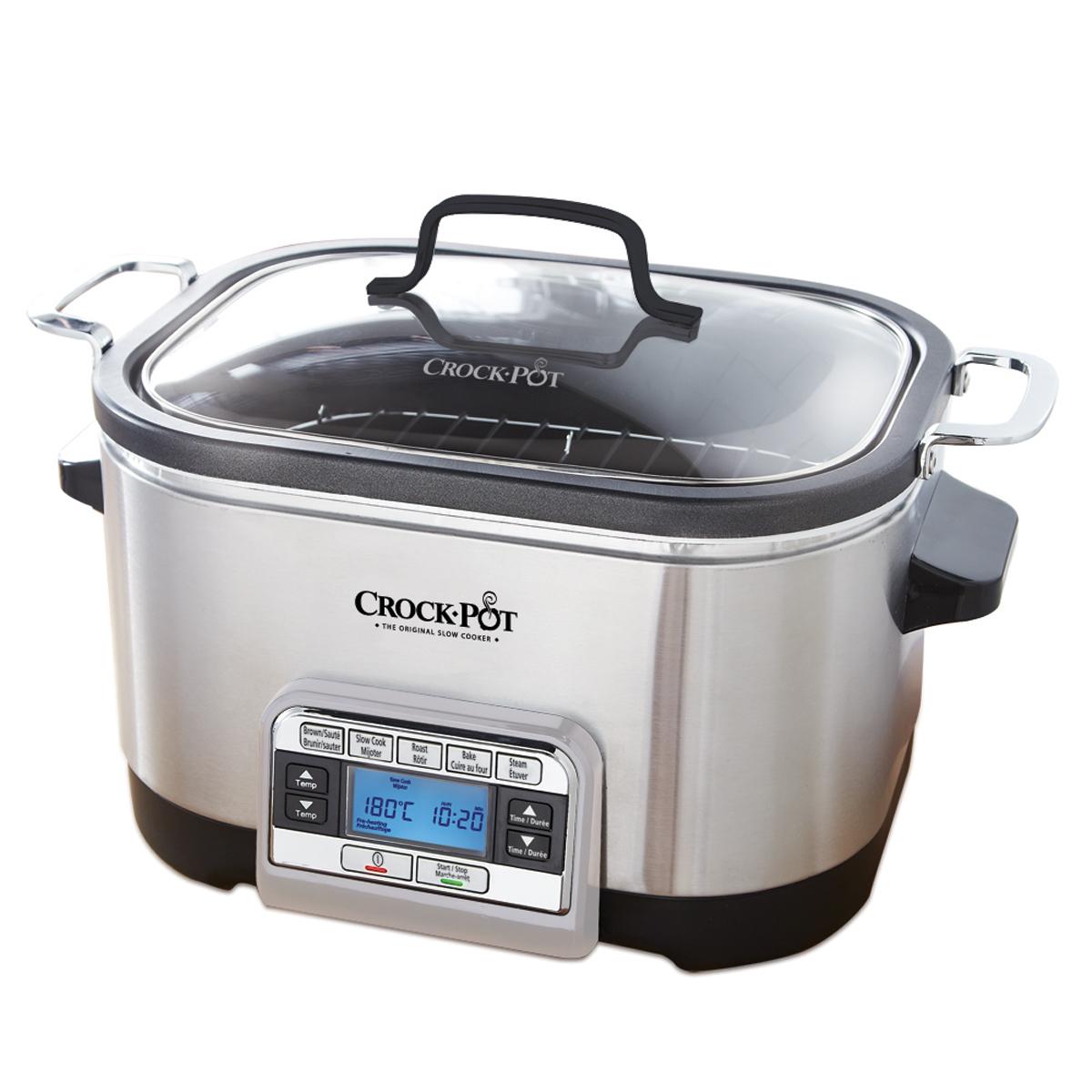 Crock-Pot® 5-in-1 Multi-Cooker in Stainless Steel by Crock-Pot