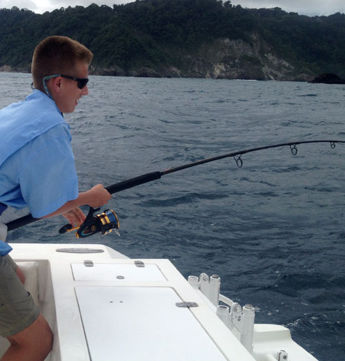 Aiden Fights Roosterfish
