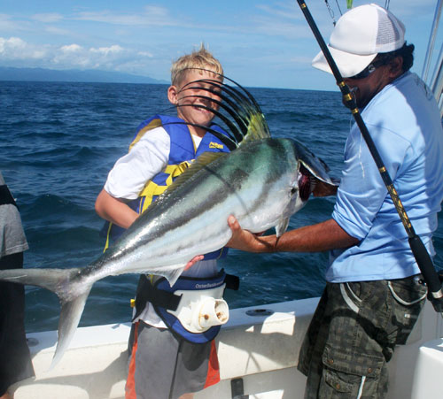 Big Roosterfish