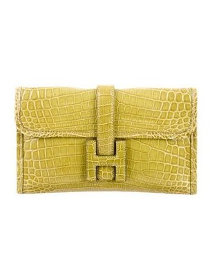 Mini Crocodile Clutch Bag