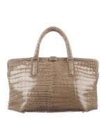 Crocodile Frame Tote Bag Bottega Veneta