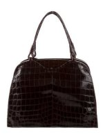 Bottega Veneta Crocodile Handle Bag