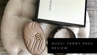 GUCCI GG MARMONT LEATHER BELT BAG REVIEW