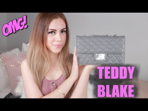 How To Style The Chain Strap Bag - TEDDY BLAKE EDITION