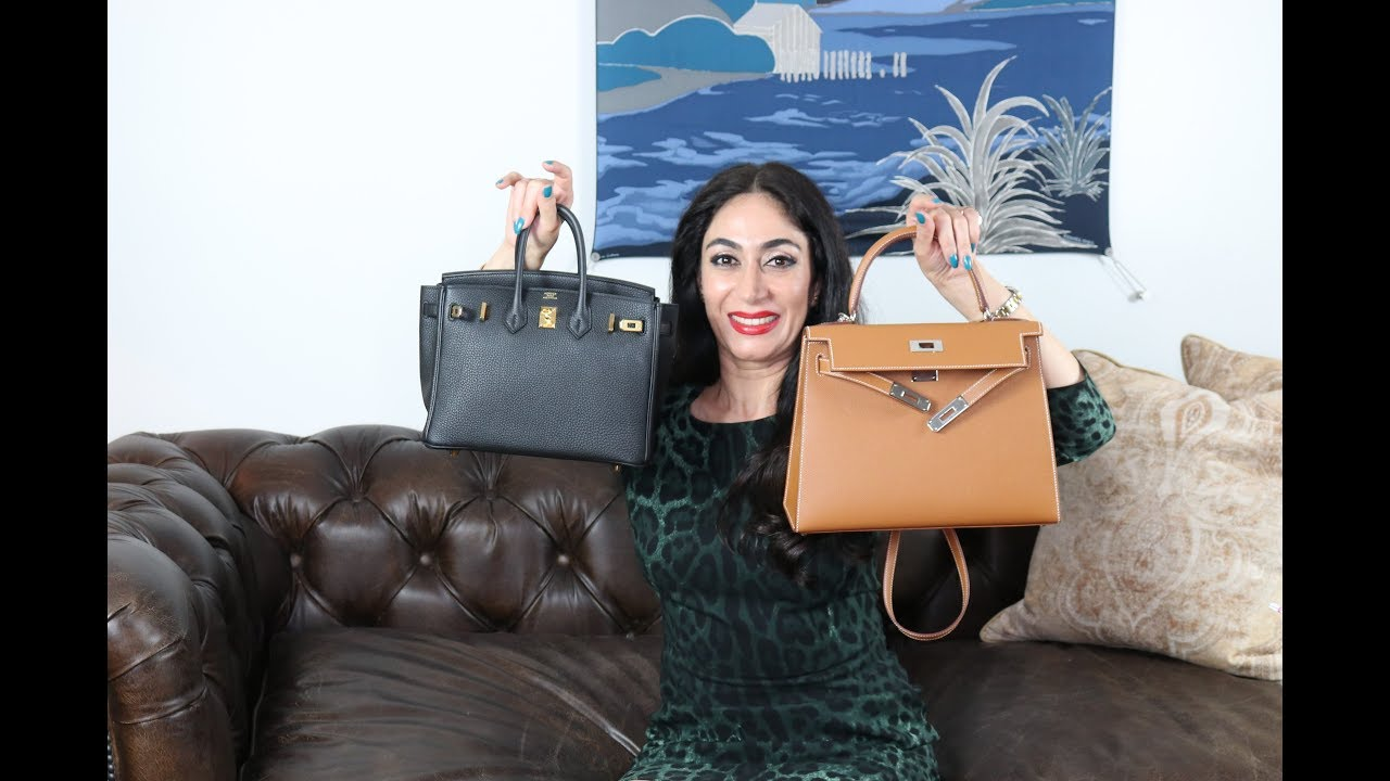 My Hermes Birkin and Kelly Comparison  | Sabrina Shekofteh 2018