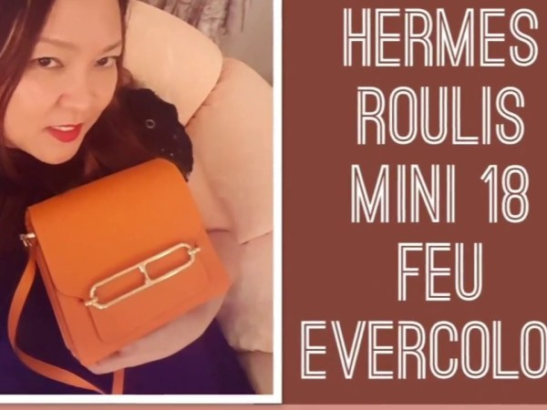 UNBOXING MY NEW HERMES ROULIS MINI BAG