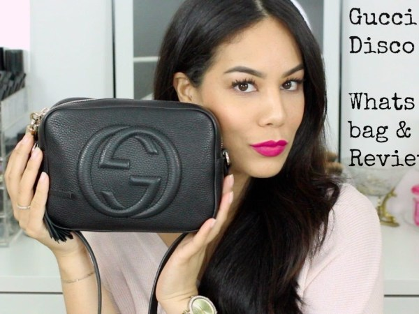 WHATS IN MY BAG??? GUCCI SOHO DISCO BAG + REVIEW!