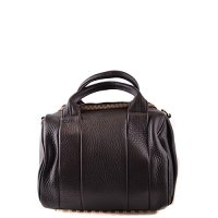 Alexander Wang leather handbag shopping bag purse