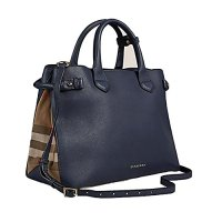 Burberry Leather Tote Bag Handbag