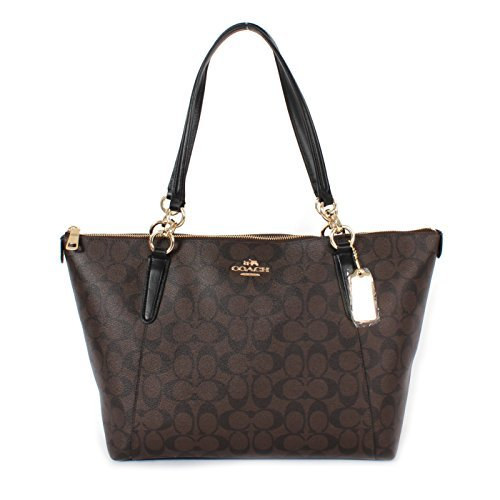 Coach Ava Tote in Signature Brown