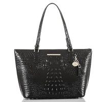 Brahmin Women's Medium Asher Black Handbag