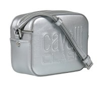 Roberto Cavalli Class Silver Small Shoulder Bag