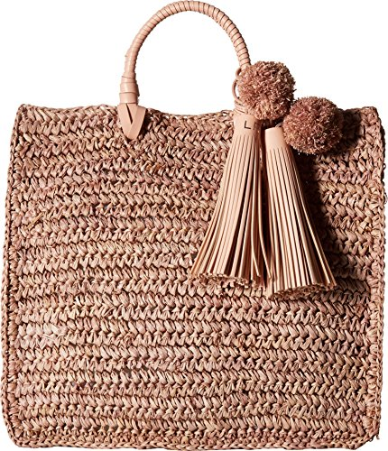 Loeffler Randall Straw Travel Tote Bag