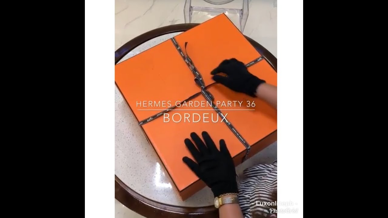 UNBOXING Hermes Garden Party 36 | Bag Talks by Anna