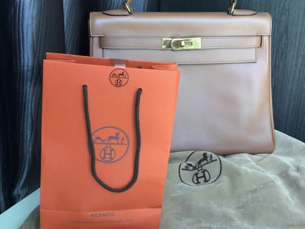 Hermes twilly kelly 32 gold