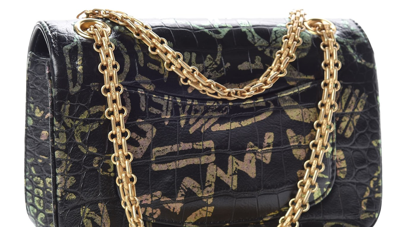 CHANEL Crocodile bag