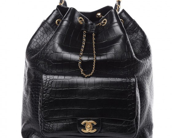 CHANEL Crocodile Embossed Bag