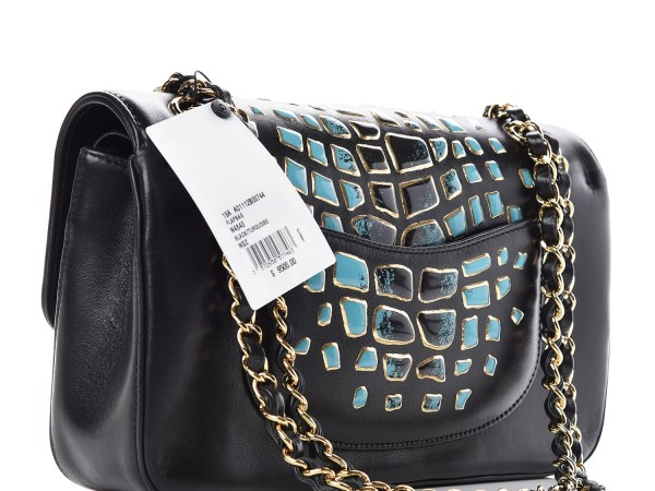 Chanel crocodile print bag