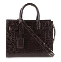 Saint Laurent Sac de Jour Nano Brown Leather Bag