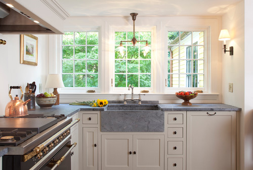 soapstone kitchen with no backsplash - No Backsplash In Kitchen
