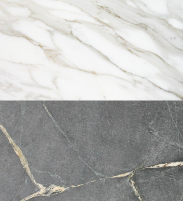 marble and soapstone