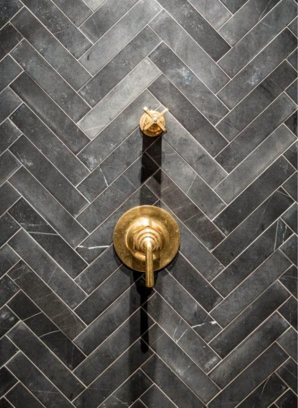 . Soapstone installed exquisitely in a lovely shower   CROCODILE ROCKS