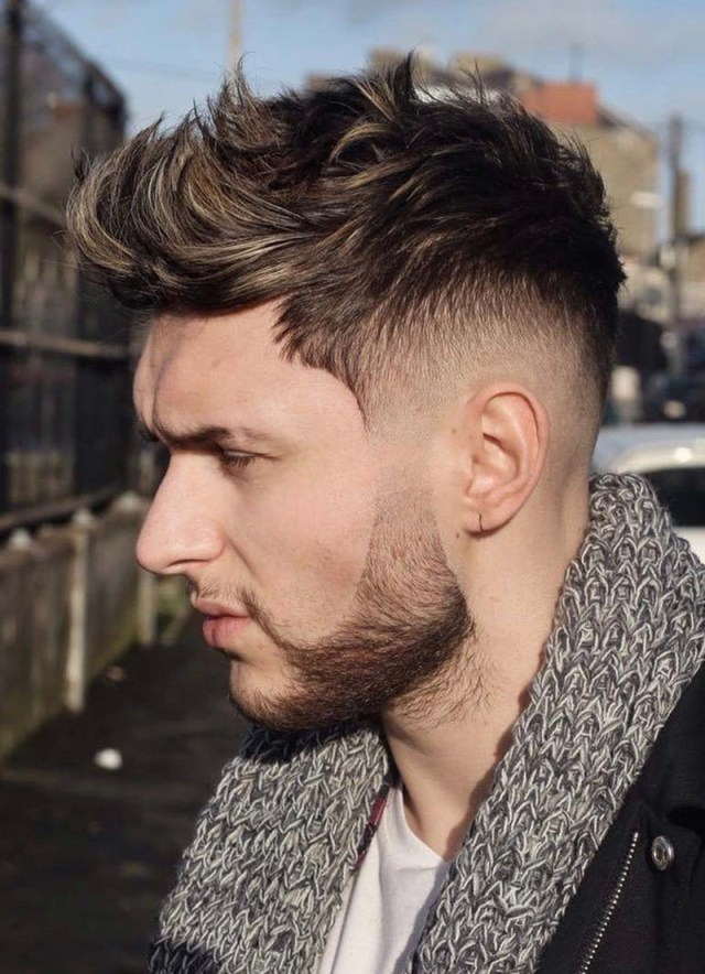 88 soothing faux hawk haircuts for men!