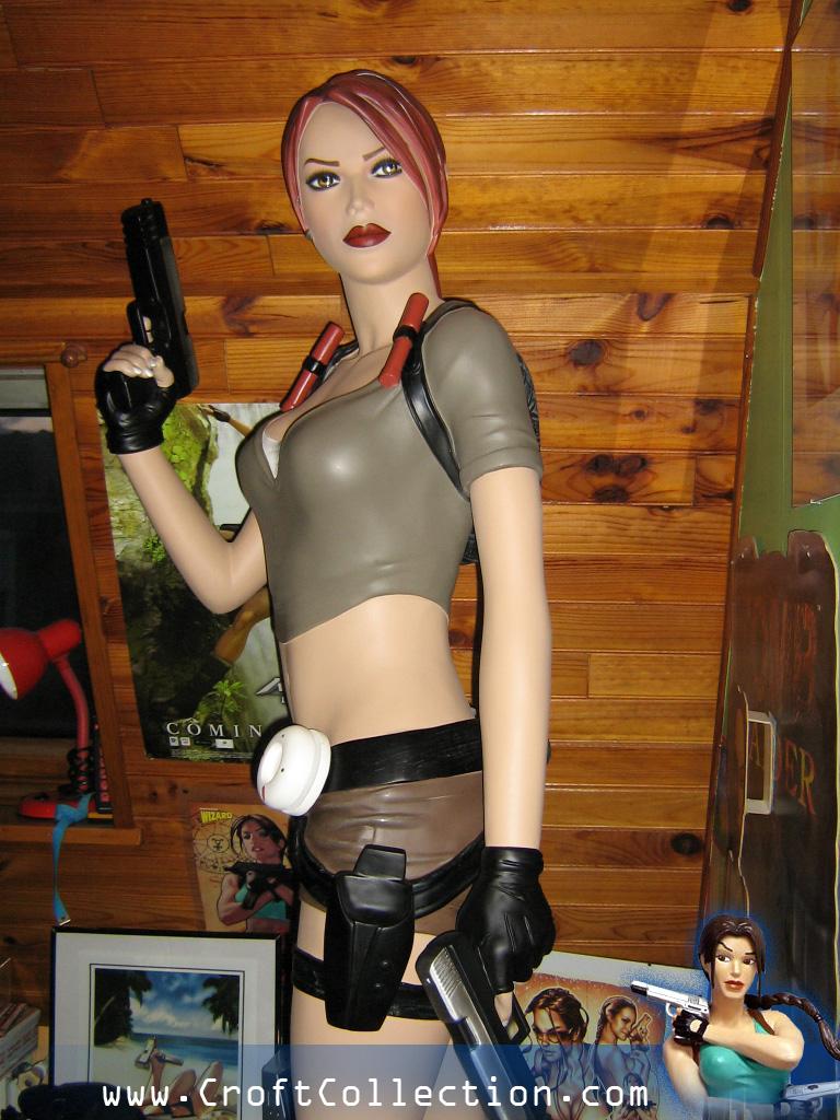 Statue taille réelle Tomb Raider Legend