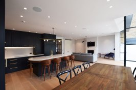 Open-plan-kitchen-Clapham-Common