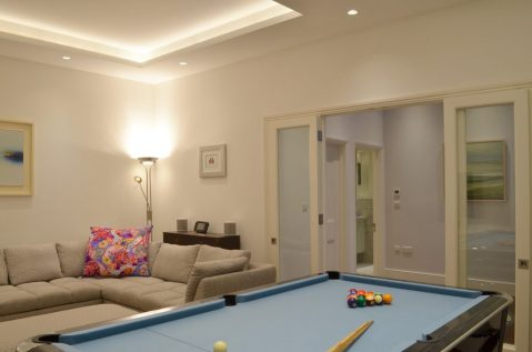 SW18 Basement games room