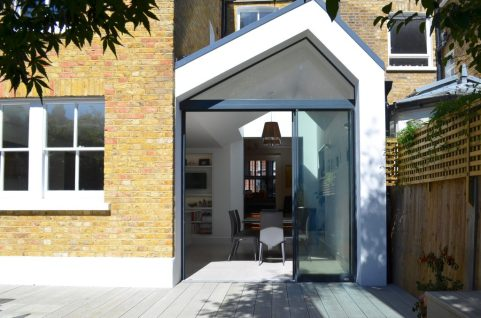 SW18 Rear glazed extension