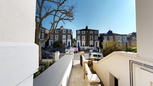 Conversion to Apartments, Street Access, NW1