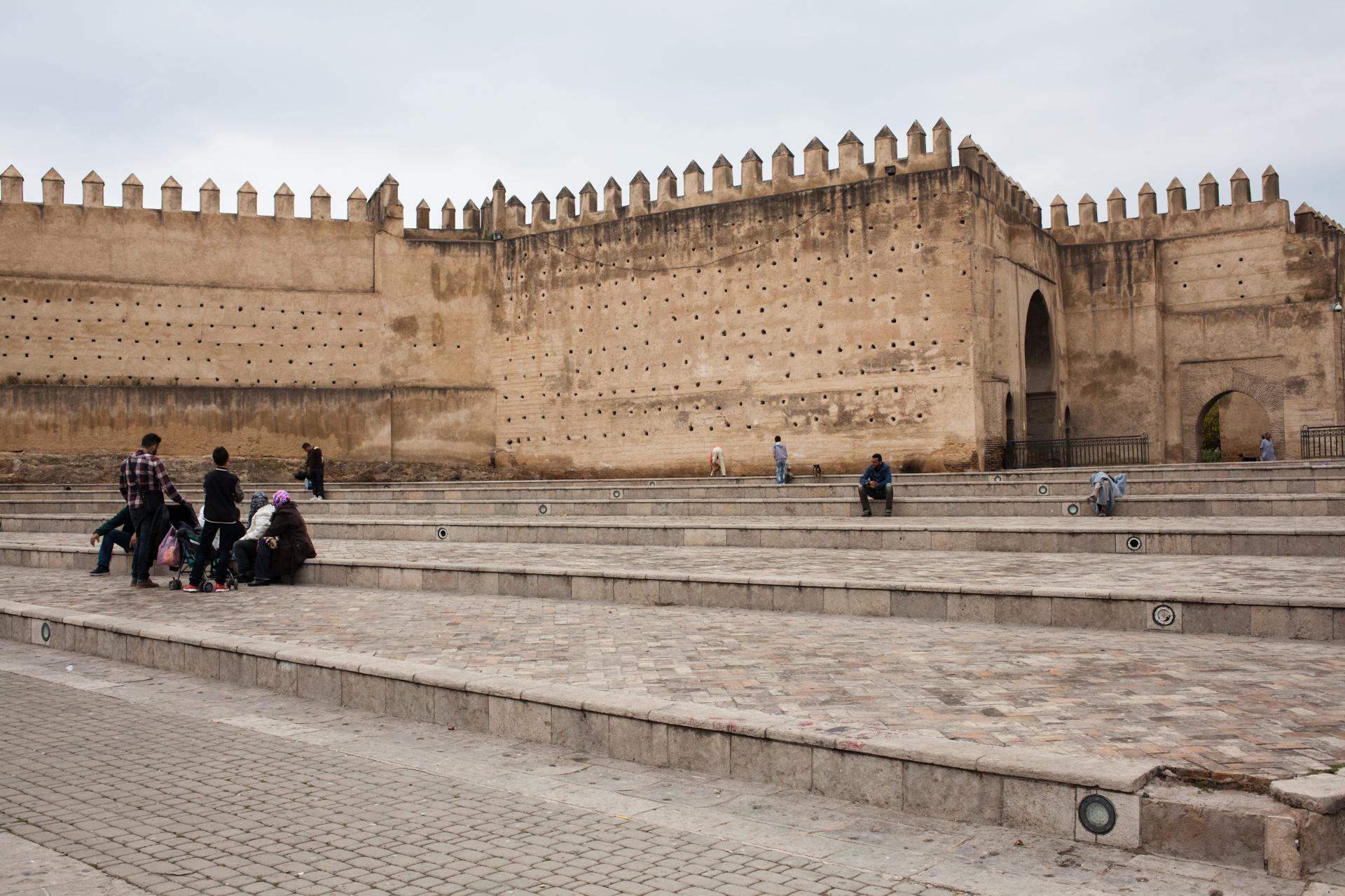 Getting outside the medina