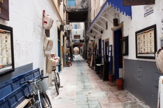 At the alleys of Essaouira
