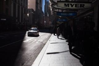 Sydney downtown.